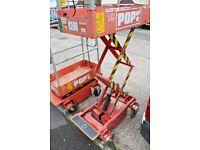 2008 POP UP + PLUS Power Tower push access platform scissor man lift