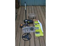 RYOBI Brushcutting and Hedgecutting Attachments for RYOBI Lt 4 Garden Tool