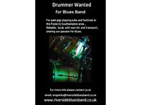 Drummer wanted for Blues Band - Poole to Southampton