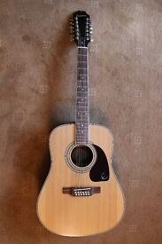 Epiphone Acoustic 12 String DR-212 Excellent Condition