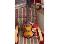Harley Benton McCartney style Viopa bass in immaculate condition