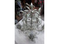2 Laura Ashley shabby-chic chandelier