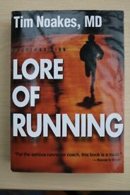 LORE OF RUNNING, 4TH EDITION - DR TIMOTHY NOAKES