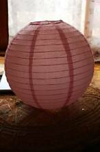 PINK PAPER LIGHT SHADE Cygnet Huon Valley Preview