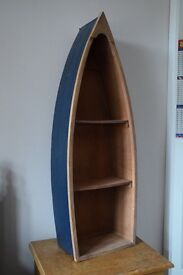 Lovely wooden BOAT SHELT