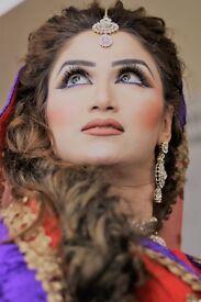 Pakistani/ indian Bridal Hair and Makeup/ wallima ,Mehndi,wedding Makeup &Hair