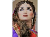 Pakistani/ indian Bridal Hair and Makeup/ wallima ,Mehndi,wedding Makeup &Hair