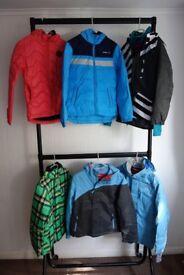 11 x O'neill & Helly Hansen Boys Girls Childrens Coat Jacket Job Lot Bundle - Brand New w/ Tags BNWT