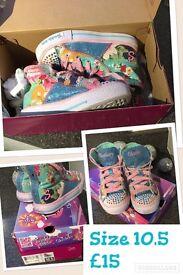 Skechers Twinkle Toes girls 10.5
