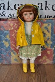 Rain Coat China Doll