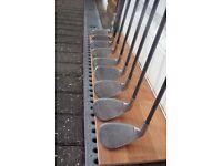 Set of Callaway Big Bertha Fusion golf irons 3 - SW £65