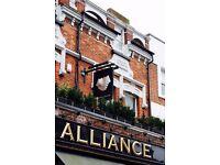 Bar & waiting staff needed for friendly, local, independent restaurant/pub. Immediate start.