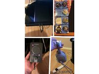 PS4 with games account and Astro a40 headset with mix amp