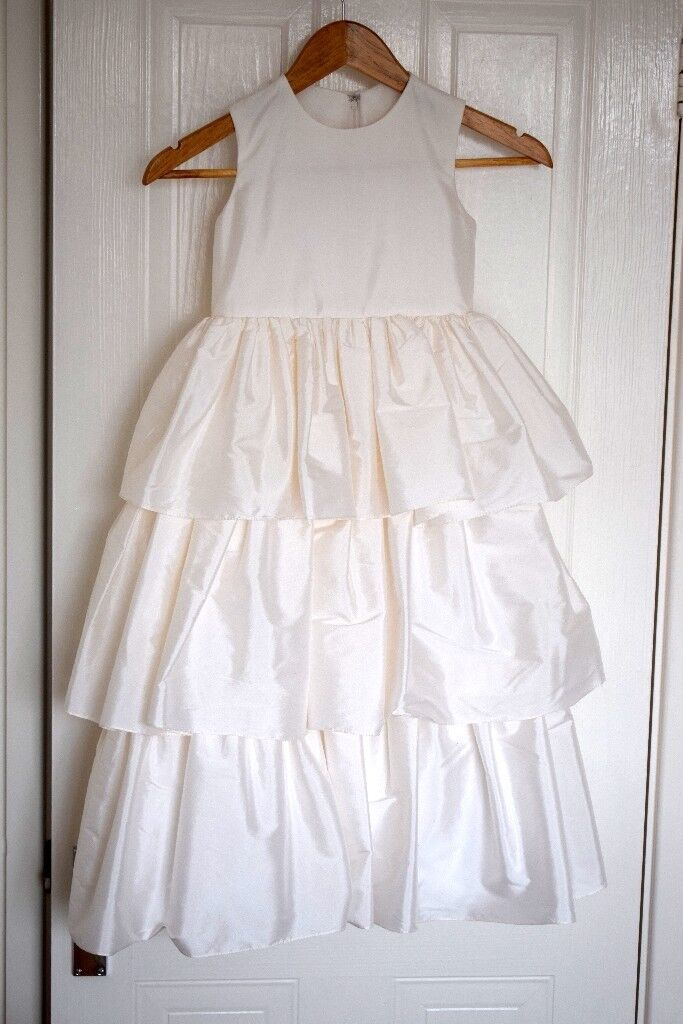 Dessy girl bridesmaidflower girl dress size 6 style no4028 snow dessy girl bridesmaidflower girl dress size 6 style no4028 snow white mightylinksfo