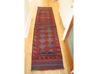 Pure woolen, handmade, Afghan Runner Carpet £99- Reduced for quick sale