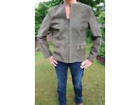 LADIES SUEDE JACKET (size 12)