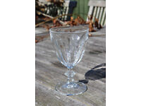 11 French Wine Glasses