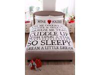 Mine & Yours Bedding Set