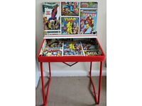 Retro Renovated Child's Super Hero Desk!