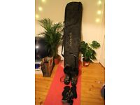 24/7 Highway 156 Snowboard - Including Dakine board bag, and other equipment