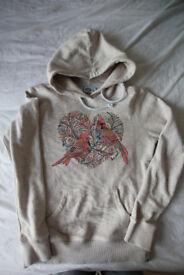 animal hoodie, size 10