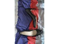 Clarks patent Heels (size 8)