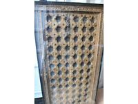 Carved Wood Church Door style Dining Table Moroccan African or Indian