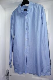 "3 M&S Men's Formal Limited Edition Cotton Shirts 18"" Collar"