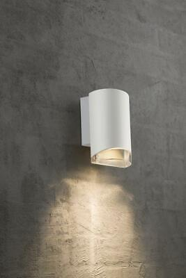 2 x NORDLUX Arn Outdoor Down Lights in White - Free LED Bulbs & Delivery