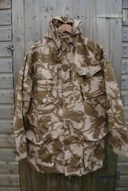 British Army Issue Desert Pattern Windproof Combat Smock - 190/96 -dg