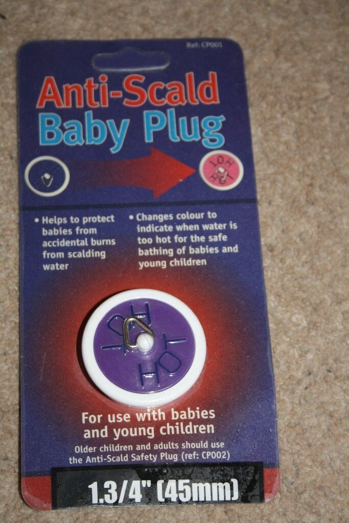 Anti-Scald Baby Bath Plug (45mm)