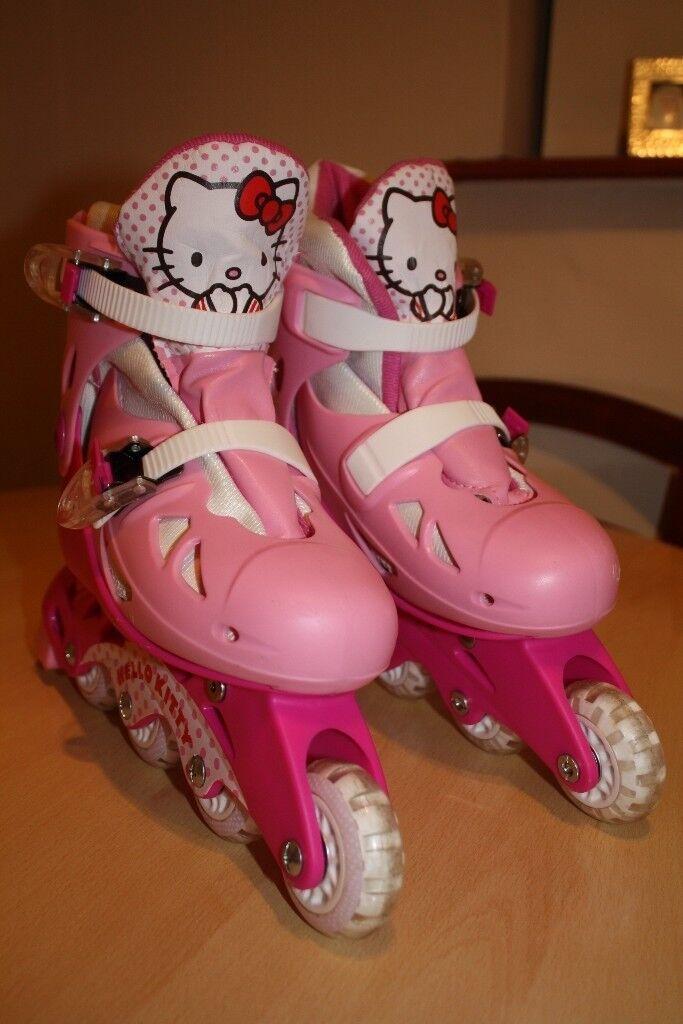 Hello Kitty Roller Blades