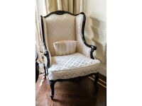 Wing Back Arm Chairs - Quick Sale