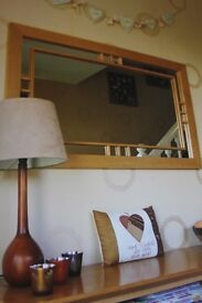 Oak Mirror - Immaculate Condition