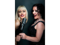 Female Retro Vocal Duo available for wedding entertainment & corporate events