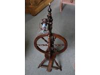Welsh Upright Spinning Wheel
