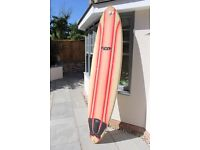 """7'8"""" Fantastic Minmal Fluid Juice Board - great for beginners, good price for quick sale!"""