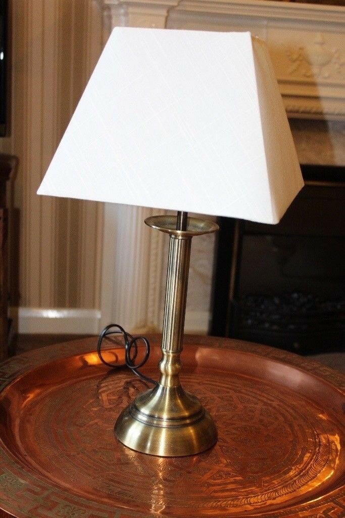 Brand new regency style table lamp, 52 cm tall