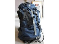 Karrimor 55L women's backpack - perfect for hiking, travelling, camping, festivals