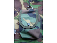 Arktis FFD (Field Dressing) Webbing Pouch in US Woodland Camo (NEW)