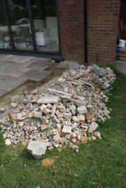 Free.... One ton approximately of brick rubble and crushed concrete. Thorpe St Andrews Norwich