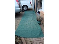 awning groundsheet used 4.9m by 2.4m