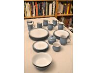 Set of Colonial Blue Denby