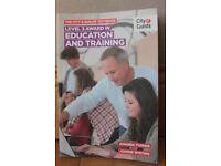 Education and Training - Level 3 Award.