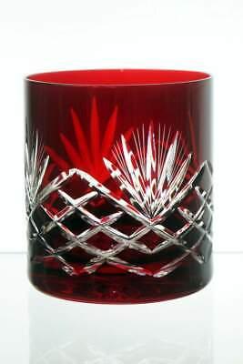 350ml Nuevo 6x Cristal Color Vasos de Whiskey Copas de Cristal Agua...