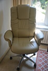Leather Executive Chair (Windsor)