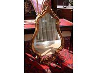 Antique Gold Effect Decorative Mirror