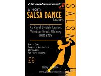 Oldbury Weekly Salsa Classes