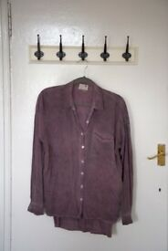 PACSUN purple button-down blouse