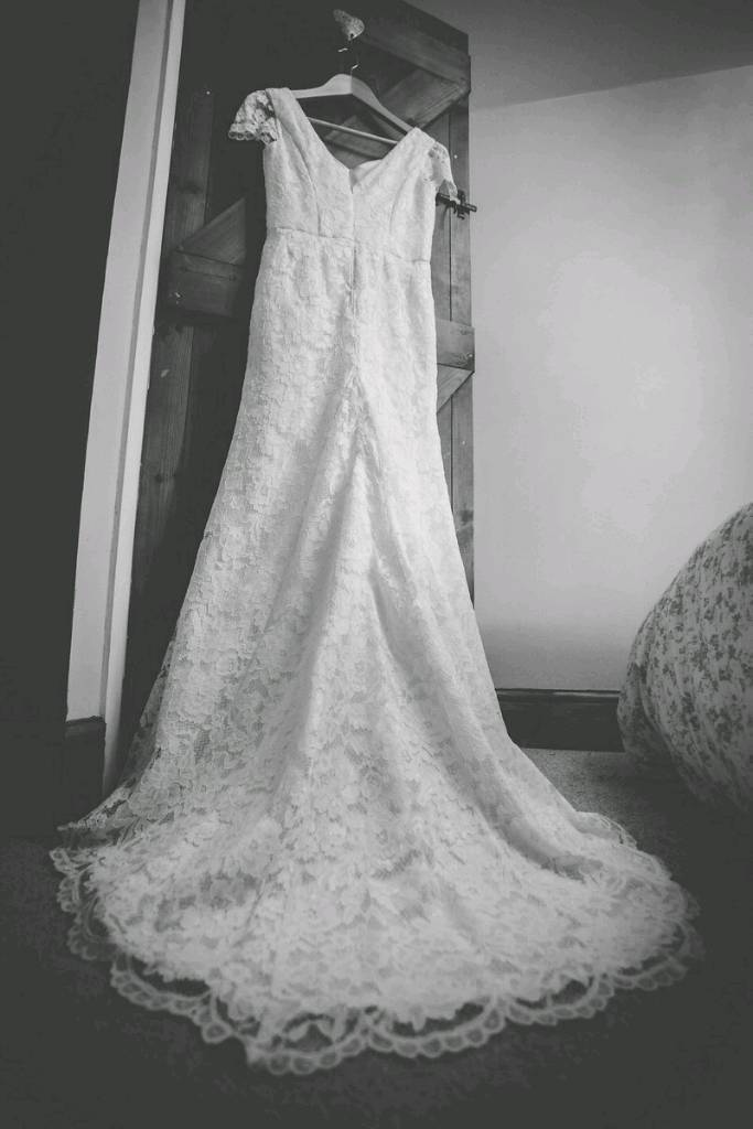 BHS Sophie ivory lace wedding dress